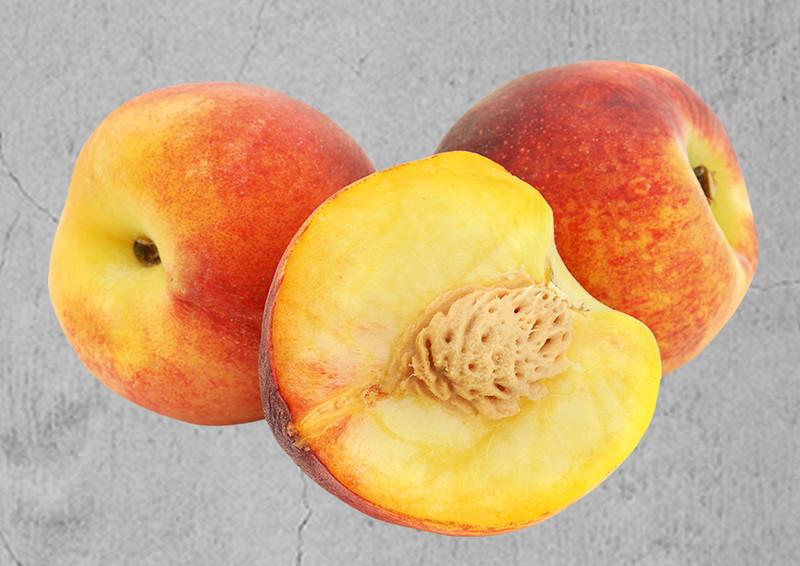 Super ARCADIA® Mini Pfirsich AMBER pix zee(S) - Häberli Fruchtpflanzen @FH_88